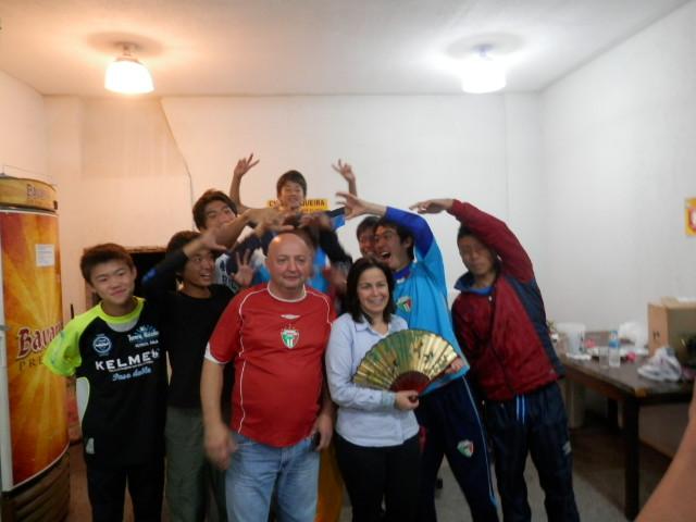 ブラジル式お別れパーティー