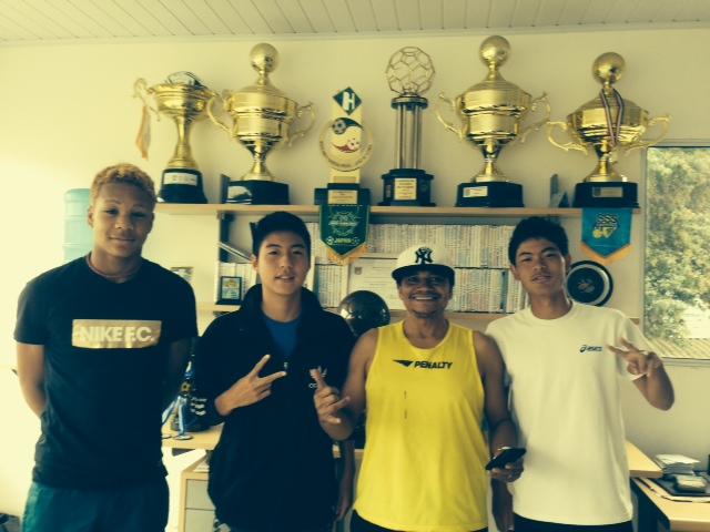 ブラジルサッカー留学スタート