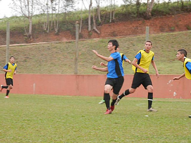 ブラジルサッカー留学中の写真