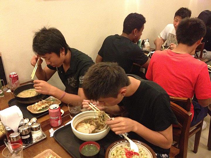 ブラジルサッカー留学中の食事